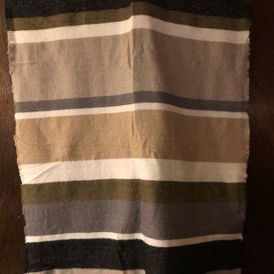 NWT Francesca's Striped Blanket Scarf